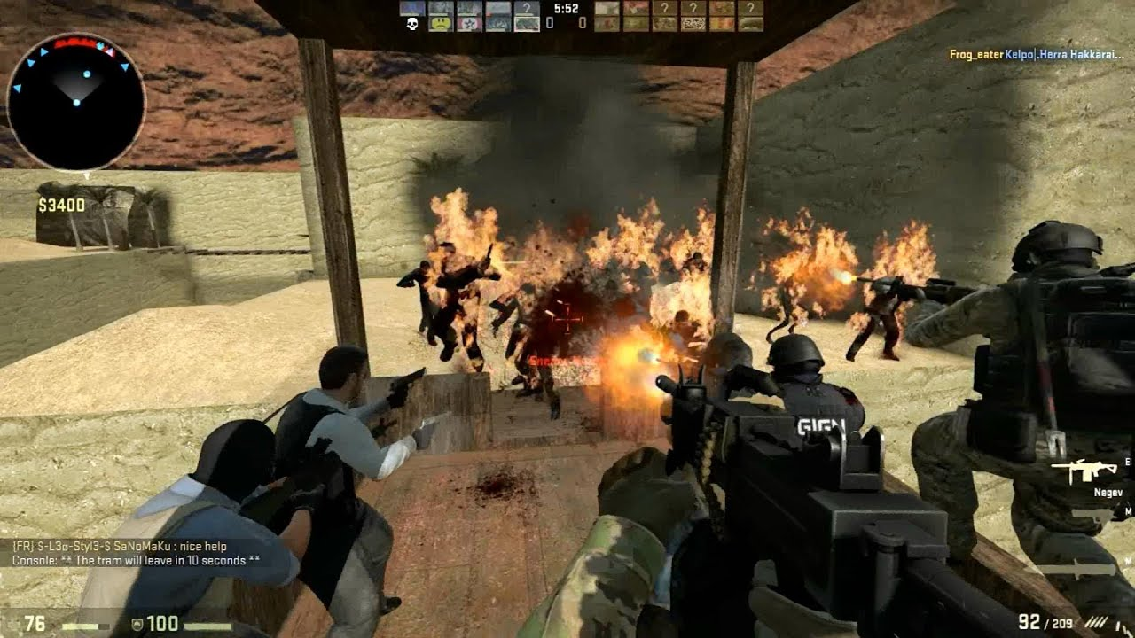 Counter Strike Global Offensive Zombie Escape Mod Online