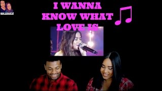 Baixar Morissette Amon I Wanna Know What Love Is REACTION