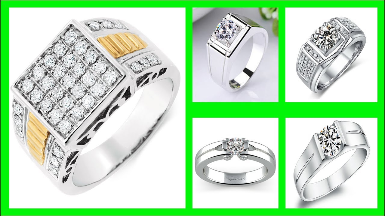 Top 35 Latest Solitaire Diamond Ring For Mens Tanishq Mens Diamond