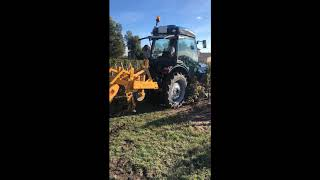 Démonstration Tracteur LANDINI  REX 4   80 V
