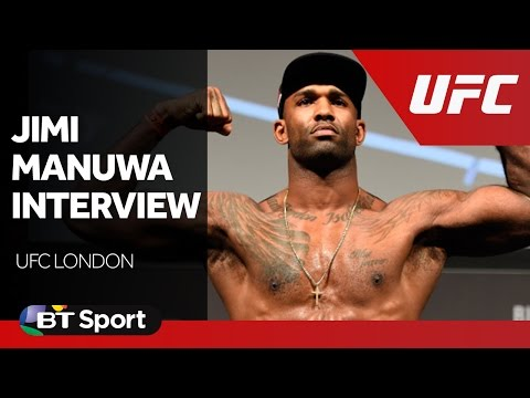 UFC London: Jimi Manuwa calls out David Haye