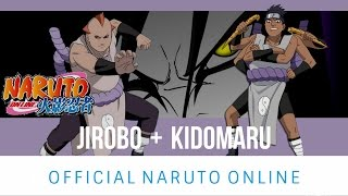 Naruto Online: Wall Kidomaru | Tank Jirobo | Soul Absorption Team
