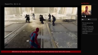 sacdeath's live playing MARVEL'S SPIDER-MAN PS4