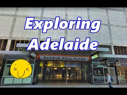 Exploring Adelaide Australia on Google Maps
