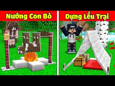 gửi hàng đi úc - bqThanh và Ốc Thử Thách 24 Giờ Lần Đầu Đi Cắm Trại Ở Khu Rừng Sâu Bí Ẩn Trong Minecraft