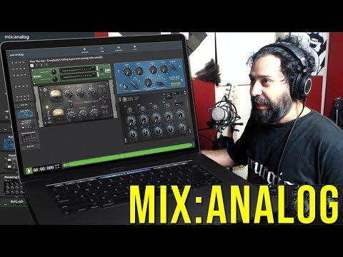 Mix:Analog - Masterização Analógica Remota em Tempo Real