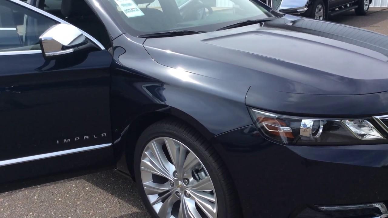 2018 Chevrolet Impala Premier Blue Velvet Metallic H18015