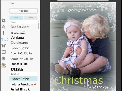 Make Your Own Christmas Photo Cards Free Online
