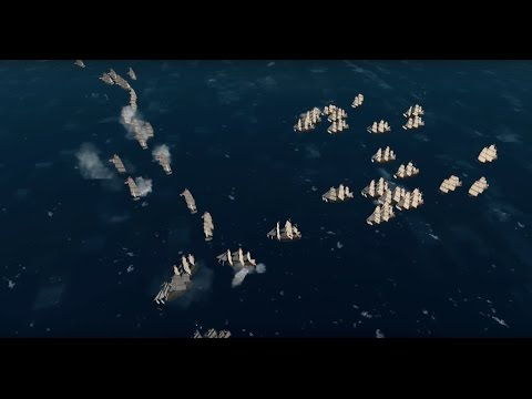 Naval Action Portbattle in Puerto de Espana in a Santisima Trinidad 30.12.2016