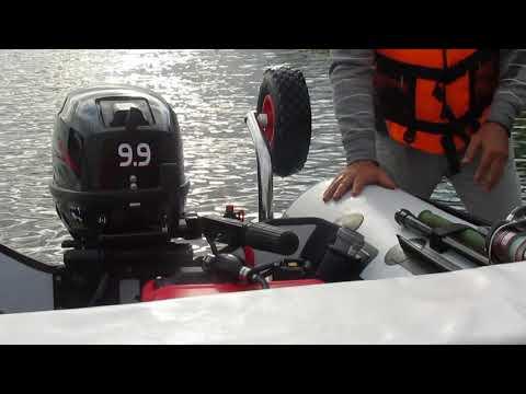 Лодка пвх х ривер 340 видео