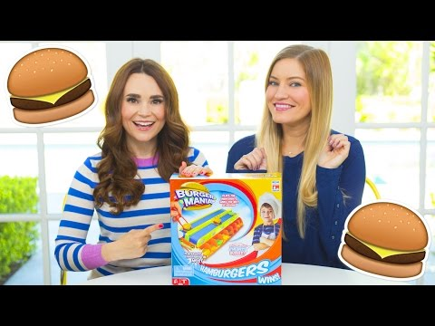 Thumbnail: 🍔 Burger Mania Challenge with Ro!