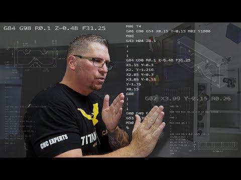 G & M Code - Titan Teaches Manual Programming on a CNC Machine.