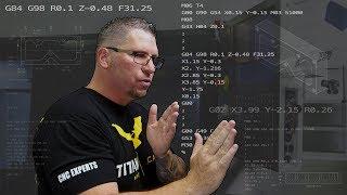G and M Code   Titan Teaches Manual Programming on a CNC Machine.