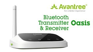 Bluetooth Transmitter and Receiver for TV and Speaker - Avantree Oasis