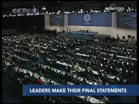Chinese premier urges rich countries to adhere Bali  Road Map and Kyoto Protocol - CCTV 091218