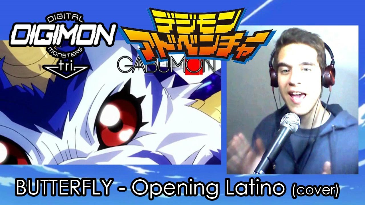 DIGIMON TRI OPENING | BUTTERFLY | COVER (Latino)