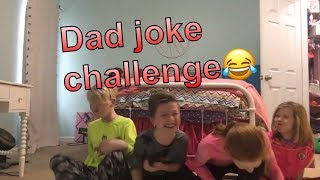Try not to laugh Dad joke challenge!