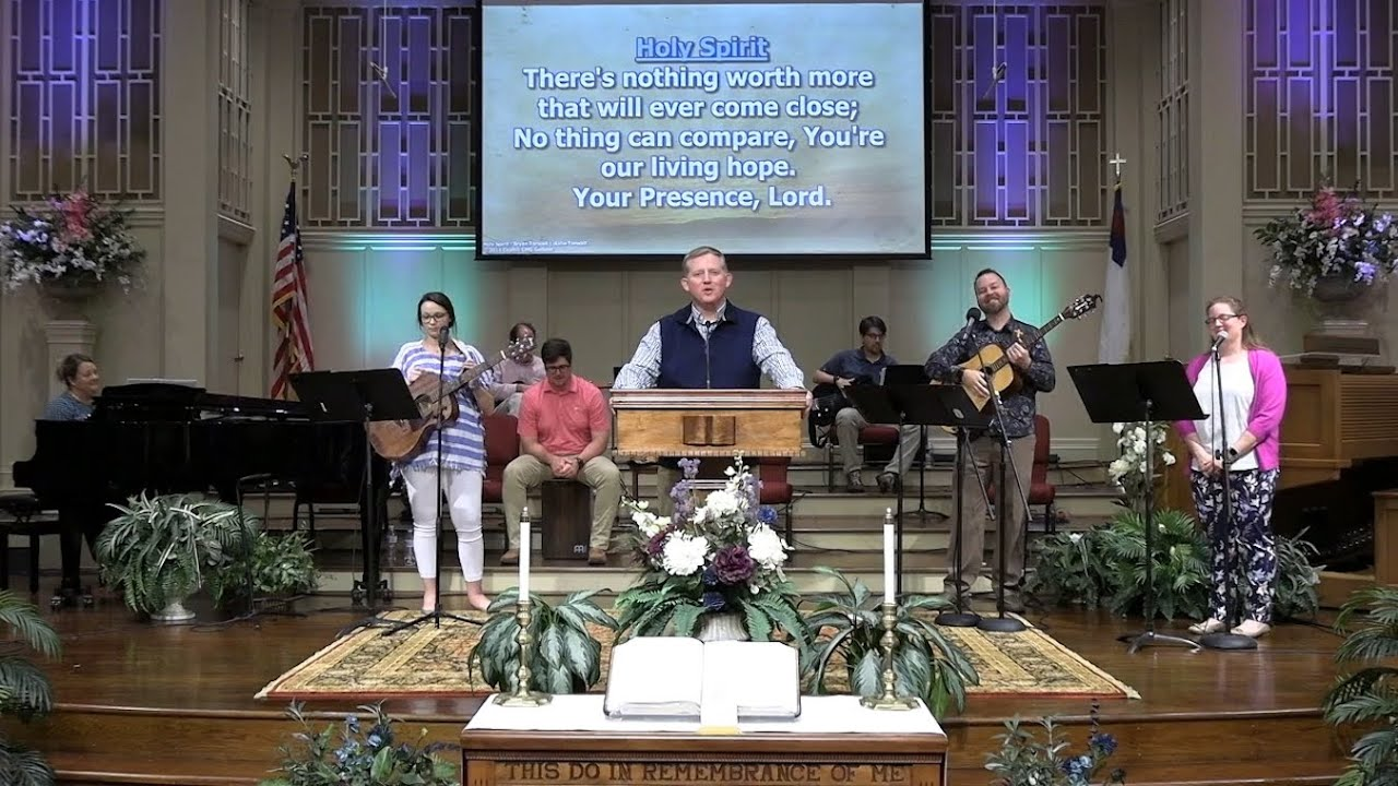 May 3 Service at First Baptist Thomson, Streaming License 201531172
