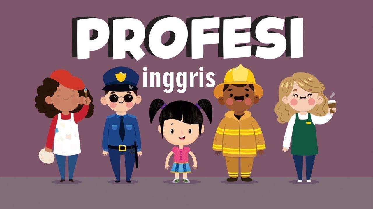 Belajar Membaca Nama Nama Profesi Dalam Bahasa Inggris Bagian 1 Bunbun Learning Profession Youtube