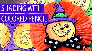 Shading with Colored Pencils Tombow Stampendous
