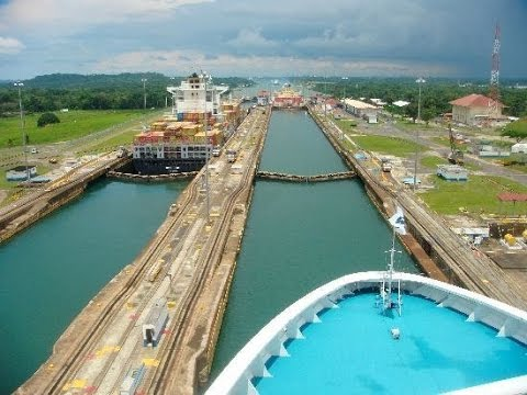 Coral Princess Panama Canal Partial Transit October 29, 2016