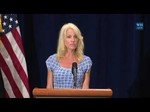 Kellyanne Conway Press Briefing on Opioids meeting with Health and Human Services Tom Price