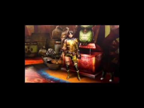 モンハン4G レザー・レザーS装備画像(女性/剣士・ガンナー共通)