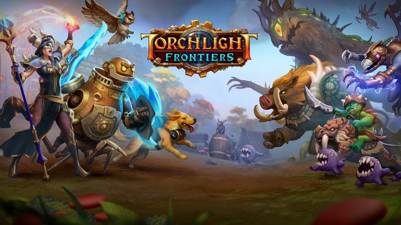 Посмотрите первый трейлер Torchlight Frontiers от создателей Torchlight и Diablo