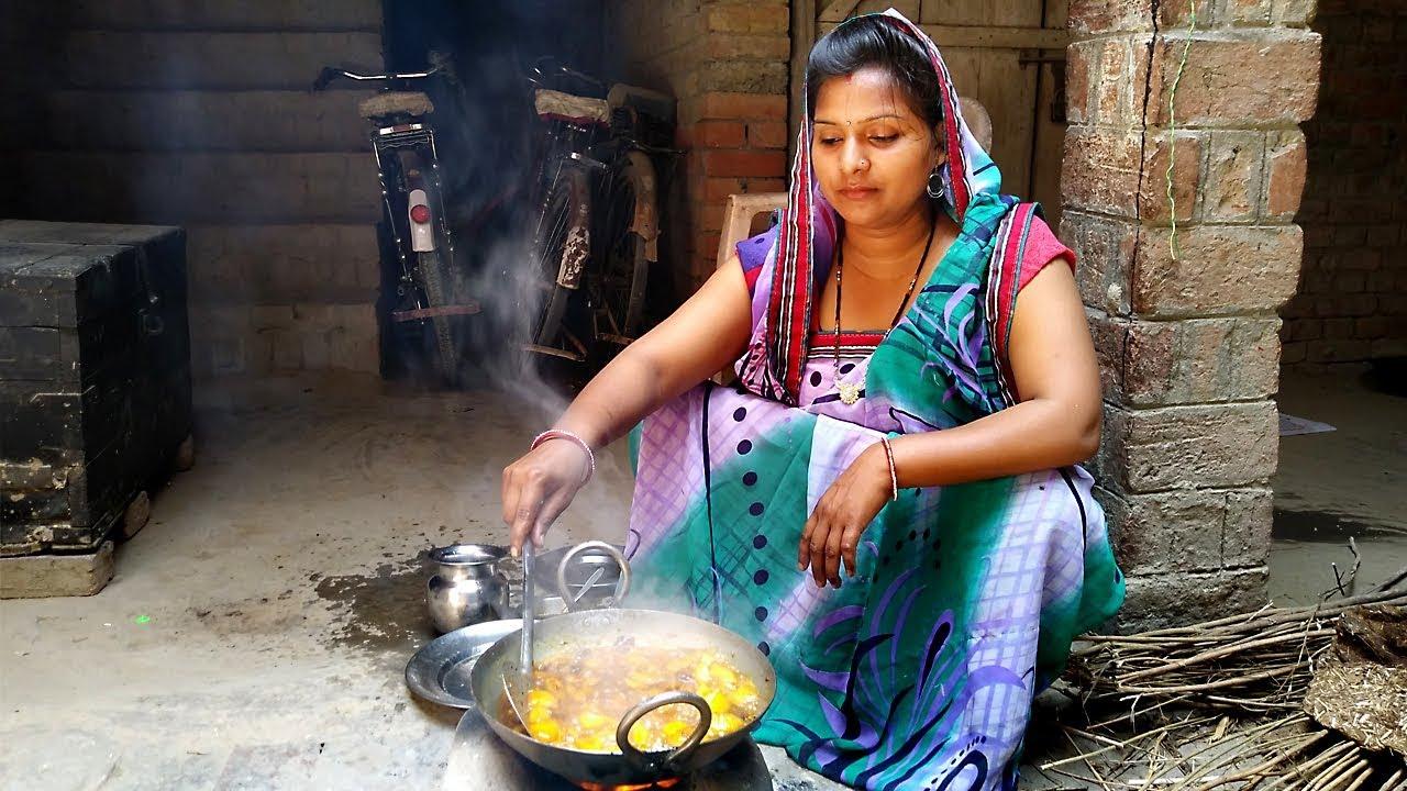 My Special Village Recipe Daily Indian Kitchen Routine 2018
