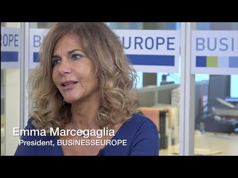 """We must safeguard the EU economic recovery"" - Emma Marcegaglia"
