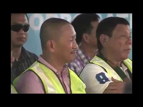 INSPECTION OF THE BULUAN POWER PLANT PROJECT WITH PRESIDENT RODRIGO DUTERTE JULY 22, 2016