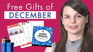 FREE French Gifts of December 2019