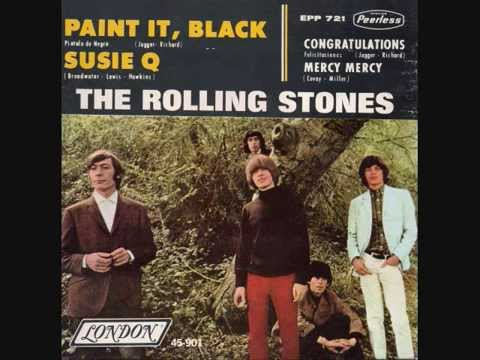 170 THE ROLLING STONES   PAINT IT BLACK    Format EP Vinyl  FULL 4