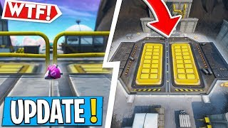 * NEW * Fortnite UPDATE | A NEW SECRET BUNKER HAS APPEARED RIGHT NOW!