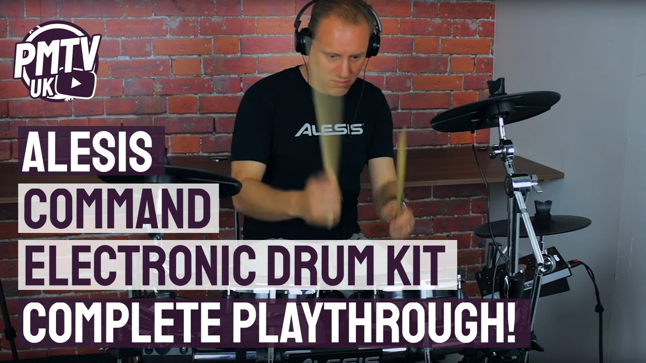 Alesis Command Mesh - Complete Module Playthrough!
