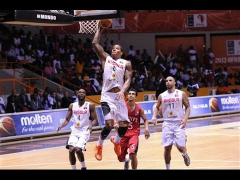 Angola v Egypt - Final Full Game - AfroBasket 2013
