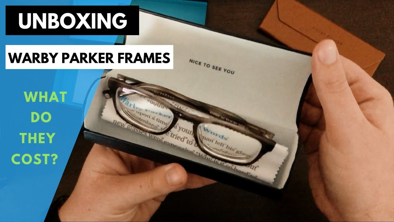 0f9c8d7bb24 Warby Parker Frames + Case Unboxing (2018) - YouTube