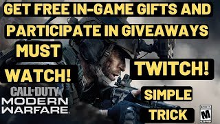 Call Of Duty Modern Warfare Get FREE IN-Game GIFTS |Many Giveaways| OFFICIAL | Dev Error