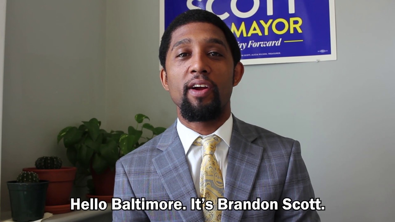 April 29: Brandon Scott Announces Forward Slate