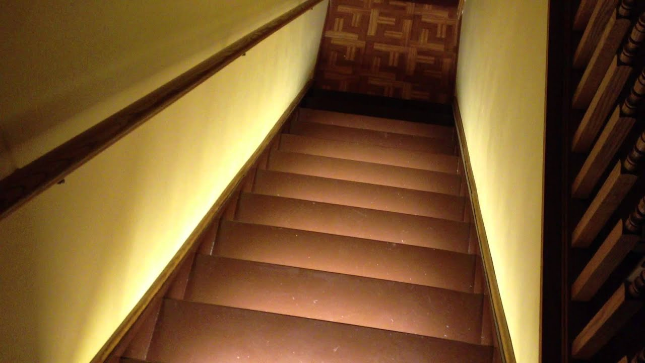 Elegant Motion Activated Stair Lighting   YouTube