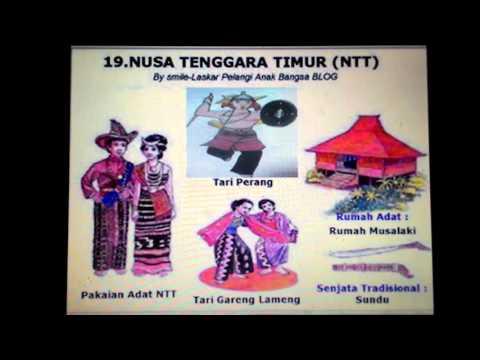 Keragaman Indonesia Rumah Pakaian Tari Dan Senjata Tradisional Part 2 Youtube