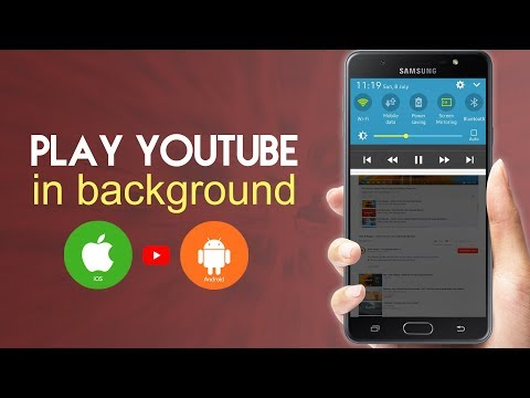 Play YouTube Videos In Background (Android & iOS) No Additional App