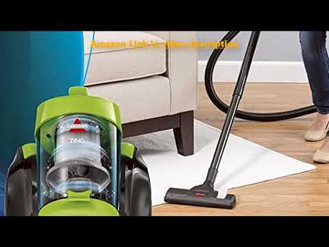 Bissell Zing Canister 2156A Vacuum Green Bagless review