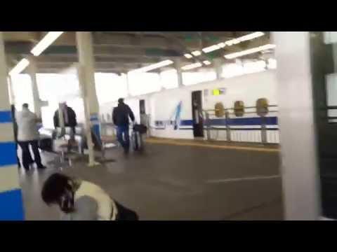 Shinkansen Tren Bala hacia Tokyo Recuerdo Benru
