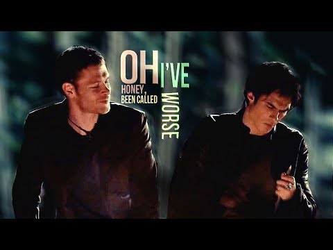 Oh honey, I've been called worse"