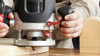 Фрезерование фигурных деревянных ножек
