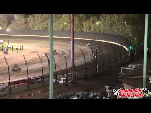Calistoga Speedway 8-31-14 :: USAC Western Midgets