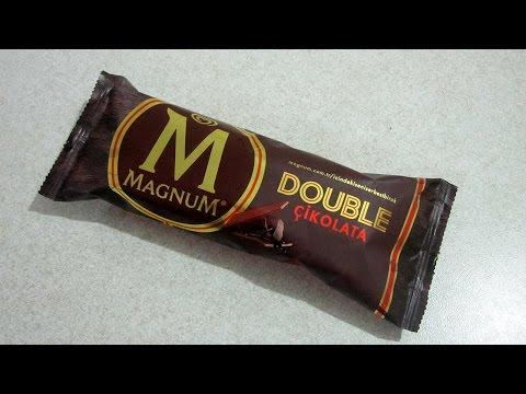 Algida Magnum Double Çikolatalı Dondurma İncelemesi