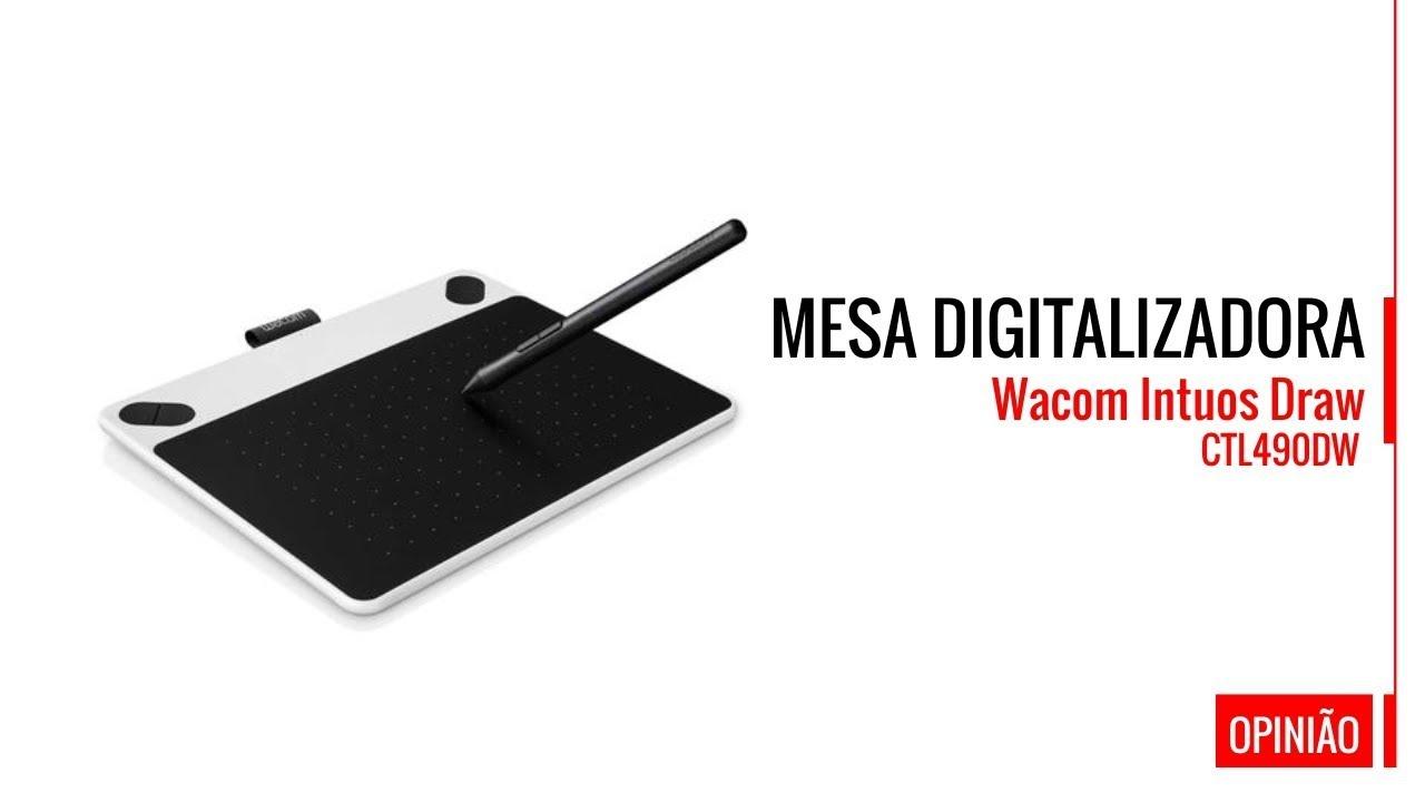 Mesa Digitalizadora Wacom Intuos Draw + Link Driver