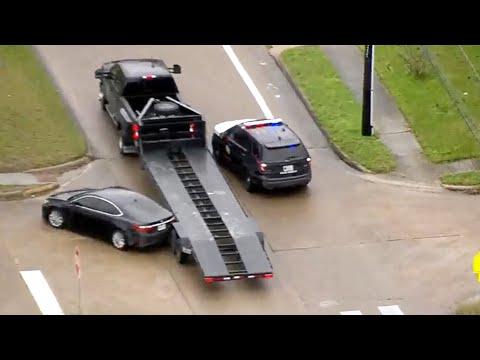 Texas Police Chase (Feb 20, 2020)